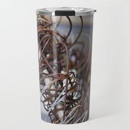 Abstract Wire Travel Mug
