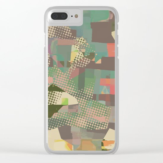 Abstract Painting No. 11 Clear iPhone Case