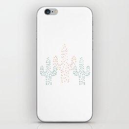 Watercolor Cactus iPhone Skin