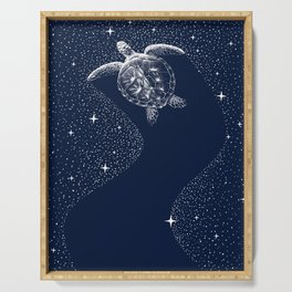 Starry Turtle Serving Tray