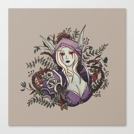 Queen of the Banshee Canvas Print