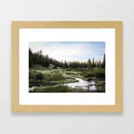 Rocky Mountain National Park | Colorado Framed Art Print