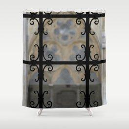 Cloister Detail Shower Curtain