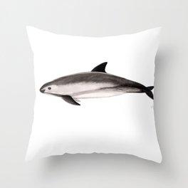 Vaquita Throw Pillow