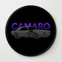 Chevrolet Camaro SS Wall Clock
