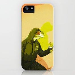 kool kermit iPhone Case