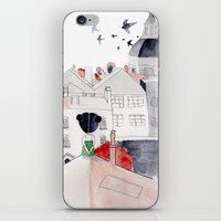 madrid iPhone & iPod Skins featuring Madrid by sole silbando
