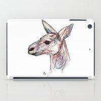 kangaroo iPad Cases featuring Kangaroo by Ursula Rodgers