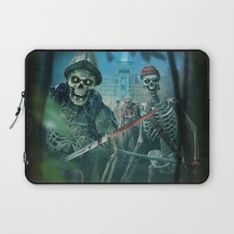 Zombie Pirates Laptop Sleeve