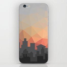 Sunset Cityscape iPhone Skin