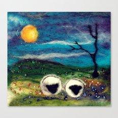 Highland Sheep Canvas Print