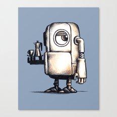 Robot Espresso #2 Canvas Print