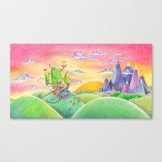 Land of Ooo Canvas Print