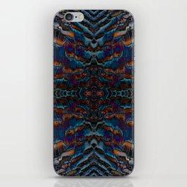 Feather fusion geometry VI iPhone Skin