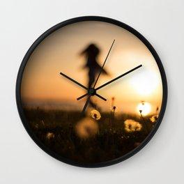 Twirl Wall Clock