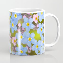 Forget-me-not flowers and buds - summer meadow Coffee Mug