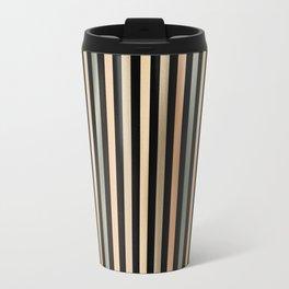 Mid Century Stripes Travel Mug