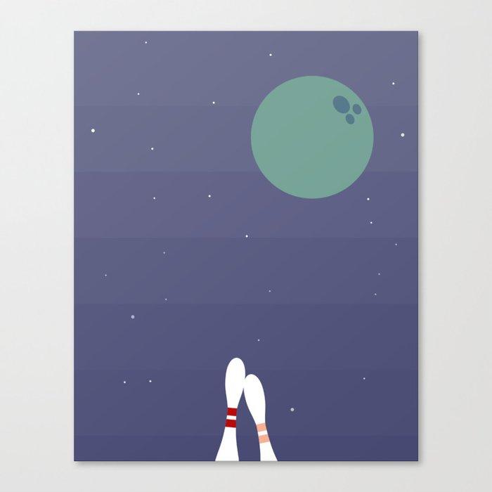 Pin Pals Canvas Print