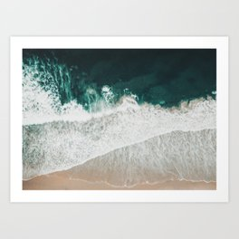 Lost waves Art Print