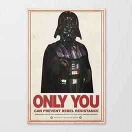 Imperial Propaganda Canvas Print