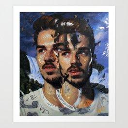 """""""Cascade"""" Art Print"""