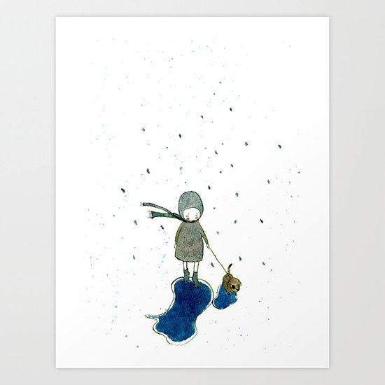 rainday Art Print