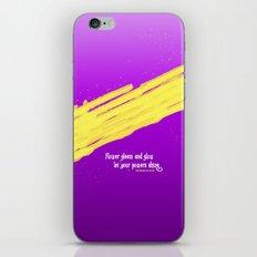 GLEAM & GLOW iPhone & iPod Skin