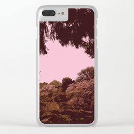 Hana Collection - Shinjuku Gyoen Cherry Blossoms Clear iPhone Case