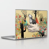 laptop Laptop & iPad Skins featuring Found You There  by Sandra Dieckmann