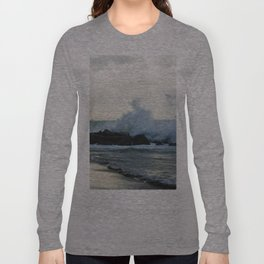 Fiumicino beach Long Sleeve T-shirt