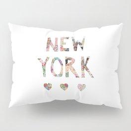 New York love Pillow Sham