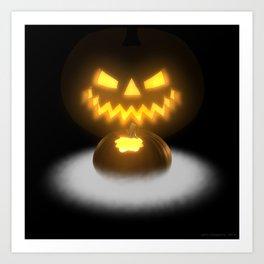 Pumpkin & Co. 2 Art Print