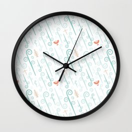 Avatar: The Last Airbender (Light) Pattern Wall Clock