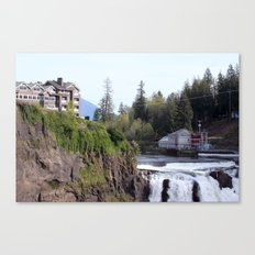 Top of the Falls Canvas Print