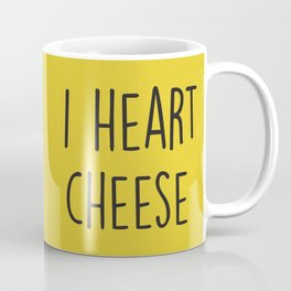 I Heart Cheese Coffee Mug