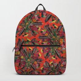 bohemian posy fire Backpack