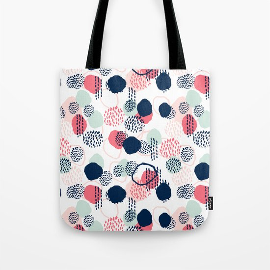 Orly - abstract painting minimal trendy girly gender neutral pattern decor Tote Bag