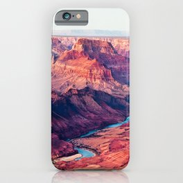 Grand Canyon Park USA Arizona Nature canyons Scenery river Canyon landscape photography Rivers iPhone Case