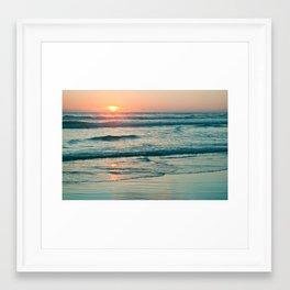 Where Colors Glow Framed Art Print