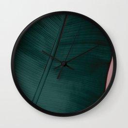 Banana Leaf Edition Wall Clock