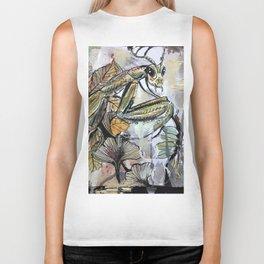 Peace, mantis Biker Tank