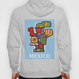Mexico Aztec or Mayan Travel Hoody