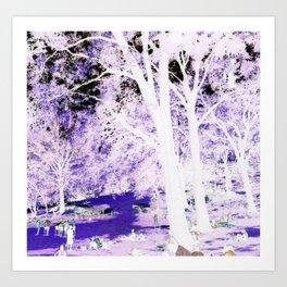 My Purple Kush Art Print