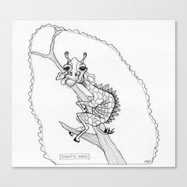 """Giraffic Park"" Canvas Print"