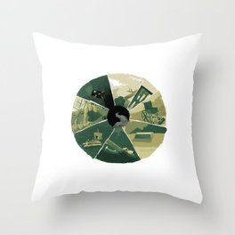 September 22 Throw Pillow