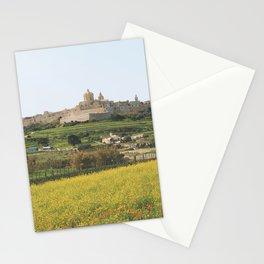 Spring at Mdina, Malta Stationery Cards