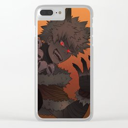 Werewolf Bakugou Clear iPhone Case