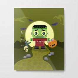 Frankie goes to Halloween Metal Print