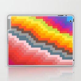 Pixel art rainbow Laptop & iPad Skin