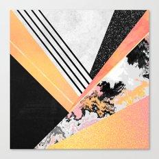 Geometric Summer Canvas Print